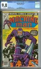 MACHINE MAN #1 CGC 9.8 WHITE PAGES