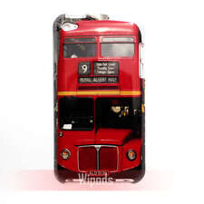 Red London Double Decker Bus Hard Cute Case Cover for iPod Touch 4 gen 4th gen