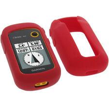 Funda para Garmin Etrex 10 Funda Protectora de Silicona Goma Funda GPS Rojo
