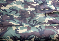 CAMOUFLAGE DPM ARMY PATTERN POLYESTER FABRIC MATERIAL CLOTH. 148cm x 200cm