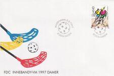 Floorball Women Girls World Championships Aland Island Finland FDC 1997