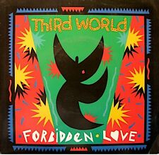 ++THIRD WORLD forbidden love (2 versions) SP 1989 PROMO MERCURY RARE EX++