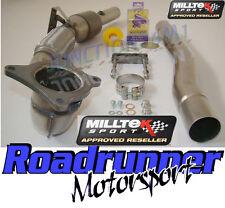 """MILLTEK GOLF R MK6 Di Scarico Tubo di scolo & SPORTS CAT SSXVW215 (si adatta 3"""" RACE SYSTEM)"""