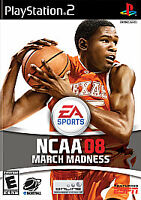 NCAA March Madness 08 PLAYSTATION 2 (PS2) Sports (Video Game) DISC ONLY