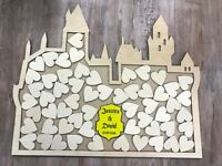 Harry Potter Inspired Hogwarts Castle Wedding guest book drop box alternative