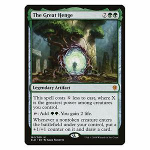 The Great Henge - NM/M - Throne of Eldraine - MTG