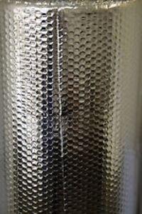Double Foil Bubble Insulation 15m2 (3 rolls) & 3 rolls of aluminium tape