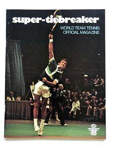1977 SeaPort Cascades program (WTT) World Team Tennis