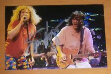"AUTOGRAFO Sammy Hagar ""Van Halen"" AUTOGRAFO SIGNED FOTO AUTOGRAFAMM LEGEND ROCK"