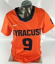 Nike Syracuse #9 Lacrosse Dri-Fit Jersey Shirt Women's Adult Size Medium (M)