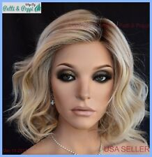 Editors Pick Raquel Welch Lace Front Mono Heat Friendly Wig SHADED BISCUIT
