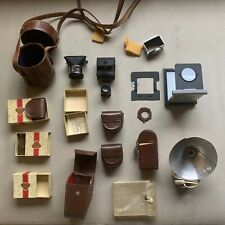 ROLLEIFLEX CAMERA ACCESORIES Rollei SLR Reflex old vintage rare collection