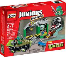 LEGO Juniors - 10669 Tortue lair avec Leonardo - Neuf et emballage d'origine