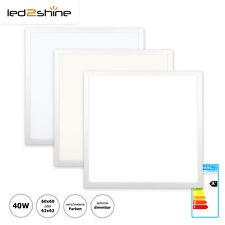 LED Panel 62x62 60x60 LED Deckenleuchte dimmbar/nicht dimmbar 40W Rasterleuchte