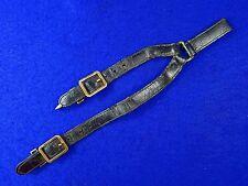Vintage US USA Leather Sword Dagger Hangers Hanger