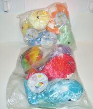 Lot of 8 Precious Moments - Tender Tails - Plush- Whales New With Tags