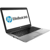 """HP Elitebook 840 G1 Intel i5 4200u 2.50Ghz 8Gb Ram 120Gb SDD 14"""" Win 10 Pro"""