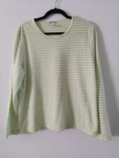 Orvis Womens Peasant Knit Embroidered Three-Quarter-Sleeved Tee