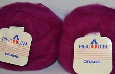 10 balls x 50gm BOHEMIAN - MOHAIR/WOOL/ACRYLIC 10 ply - Made in France