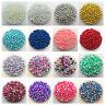 4-10mm 15g Mix Size No Hole Imitation Pearls Round Beads DIY Jewelry Making #UK