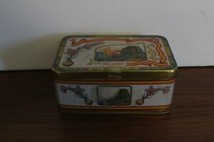 Vintage The Syren Brand Pure Superior Mancha Saffron Tin