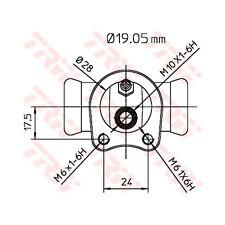 Radbremszylinder TRW BWD119
