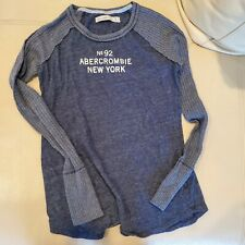 Abercrombie fitch, Long Sleeve, Small, dark blue