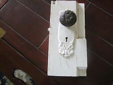 Antique salvage door handle. Shabby accessory. Added more.
