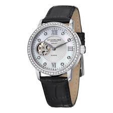 Stuhrling Original 710 01 Memoire Automatic Womens Watch w/ Swarovski Elements