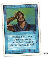 MRM ENGLISH Psionic Blast Front Good Back Good WOU01 MTG magic UNLIMITED