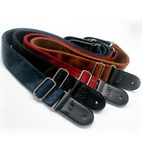 Soft Durable Leather Straps for Acoustic Electric Guitars bass Adjustable Guitar