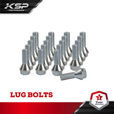 20PCS M12X1.25 Wheel Lug Bolts 28mm Shank Conical Seat for 2015-18 Jeep Renegade