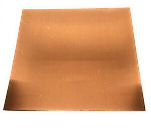 copper 22 gauge DIY metal jewelry sheet