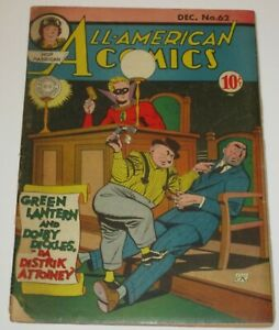 All American Comics #62..December,1944...