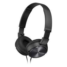 Sony MDR-ZX310 On-Ear Stereo Headphones - Foldable - Metallic Black