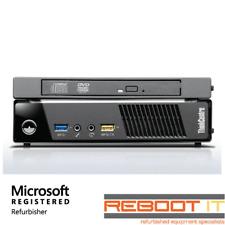 Lenovo ThinkCentre M73 Tiny i3 4130T 2.9GHz 4GB 500GB DVRW Win 7 PC