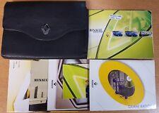 GENUINE RENAULT MEGANE II OWNERS MANUAL HANDBOOK WALLET 2002-2006 REF G-965