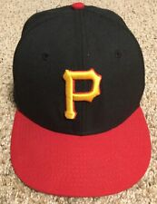 1990s Pittsburgh Pirates 6 5/8 Kids New Era 59FIFTY 5950 Fitted Hat Ball Cap