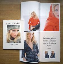 Lana Grossa, design special, Ausgabe 1, ca. 30 Modelle, Stricken, Anleitungen