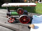 Vintage Mamod TE1 Steam Tractor Engine with Steering Rod