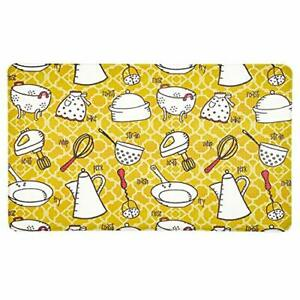 12 mm Thick Cushioned Standing Mat Kitchen Rug Non Slip, Durable and Spill