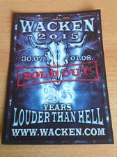 W:O:A 2015 Postkarte vom Wacken Festival 2015, 26 Jahre W:O:A