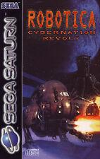 ## Robotica: Cybernation Revolt (mit OVP) - SEGA SATURN Spiel - TOP ##
