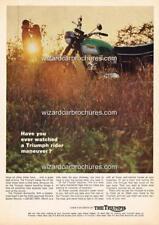 1969 TRIUMPH DAYTONA 650 A3 AD POSTER PRINT ADVERT ADVERTISEMENT SALES BROCHURE