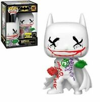 BATMAN Joker's Wild Funko Pop Vinyl New in Mint Box + EE sticker + Protector