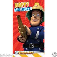 Ufficiale Pompiere Sam Compleanno Carta *** GRATIS 1st classe P & P ** (fs009)