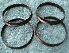 BMW E30 325i M3 E28 535i M5 E24 635 E34 E36 Wheel Hubcentric Ring Set 74-72.56mm