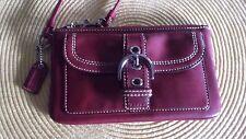 Coach Wristlet  Soho Red Leather! Pre-owned-Excellent Condition!