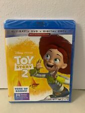 Disney Pixar Toy Story 2( Blu-Ray + Dvd + Digital) tom hanks timmy allen