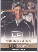 13-14 Upper Deck Tanner Pearson UD Canvas Young Guns Rookie LA Kings 2013